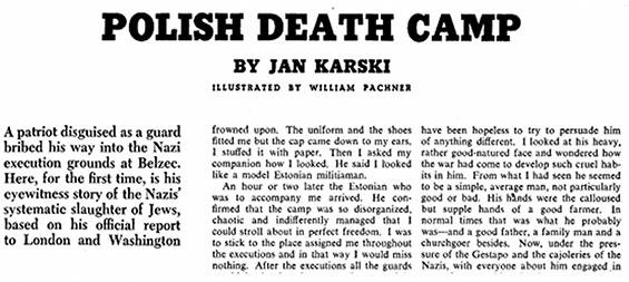 """""""Holocaust"""", jak i """"polskie obozy koncentarcyjne"""""""