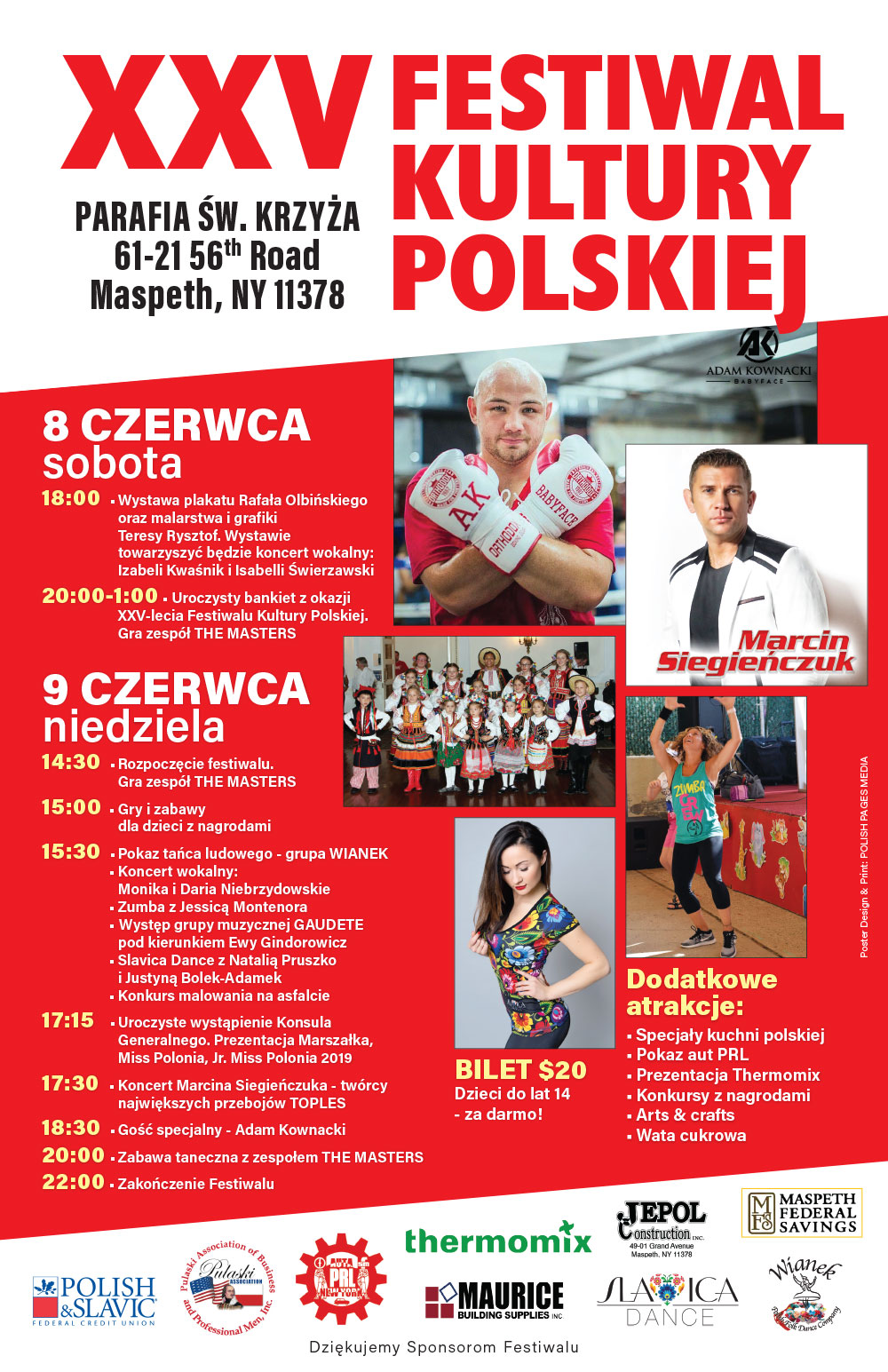 festiwal kultury polskiej ny