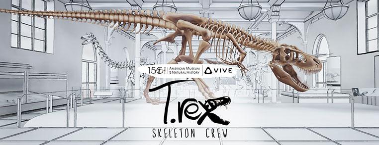 Vive Studios, T. Rex: Skeleton Crew Viveport Infinity