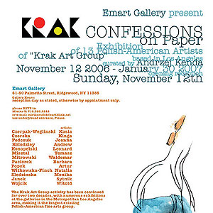 Exhibition - Confessions on Paper.