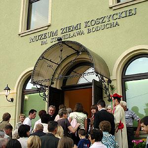 Oficjalne otwarcie Muzeum Regionalnego w Koszycach im. Stanisława Boducha