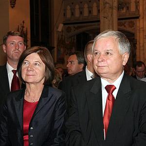09.23.2007 - Prezydent Polski Lech Kaczyński w kościele na Greenpoincie