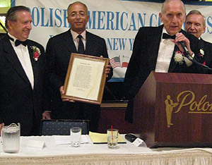 Kosciuszko's will cited at Polish American Congress awards banquet