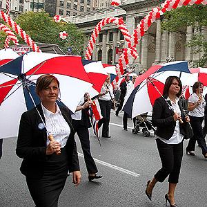 10.07.2007 - Parada Pułaskiego w Nowym Jorku - P-SFUK
