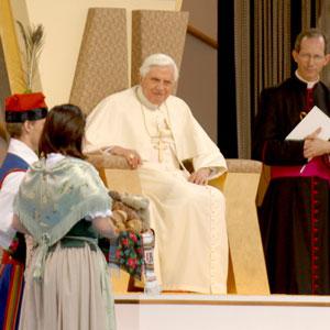 19.04.2008 - spotkanie młodzieży z Papieżem Benedyktem XVI