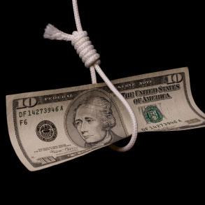 Ameryka w finansowym bagnie