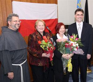 Prezydent Queensu uhonorowała czterech Polaków