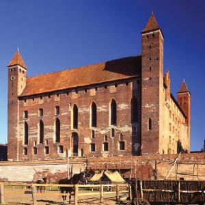Gniew, średniowieczna strażnica - Zamek w Gniewie
