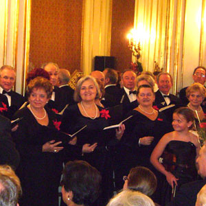 Angelus Chorus w Konsulacie - Koncert kolęd 2009