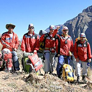 Dzień 3. - ekipa Colca Condor 2009 jest już od kilku godzin na dnie najgłębszego kanionu na świecie!