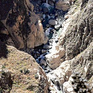 Dzień 6. - ekipa Colca Condor 2009 walczy z żywiołem na dnie najgłębszego kanionu na świecie!