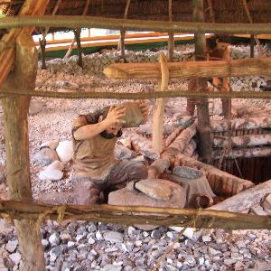 Krzemionki Opatowskie - Rezerwat archeologiczny w okolicach Ostrowca