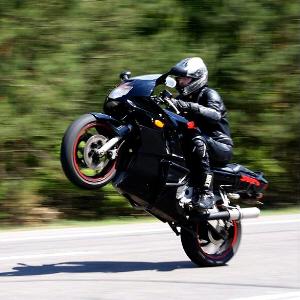Szaleni motocykliści