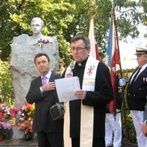 An American tribute to Poland's hero priest