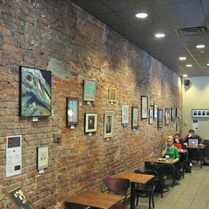 50-ta wystawa w Starbucksie
