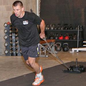 Trening siłowy Tomasza Adamka