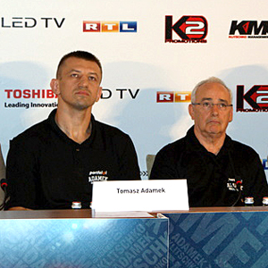 Ostatnia konferencja prasowa przed walką Adamek - Kliczko