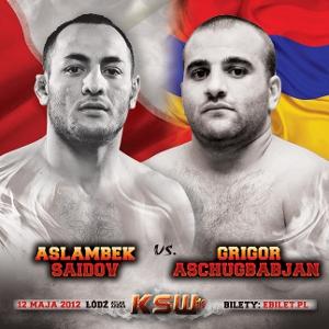 KSW19: Saidov vs. Aschugbabjan