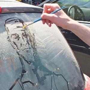Studenci ASP przypomnieli o myciu samochodów poprzez sztukę