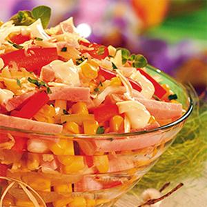 Sałatka z kukurydzą - Dobre pomysły, dobry smak: WINIARY
