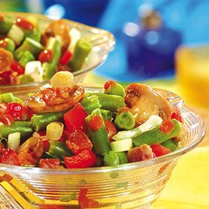 Sałatka z fasoli szparagowe - Dobre pomysły, dobry smak: WINIARY
