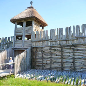 Biskupin - najpopularniejszy polski gród