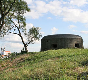 Skansen fortyfikacji II Wojny światowej w Bakałarzewie
