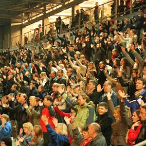BMW czyli Bliżej, Mocniej, Więcej - Ewangelia na stadionie Cracovii