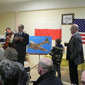 W Karkowie uczczono pamięć amerykańskich lotników