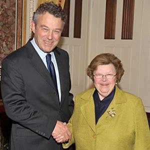 Senator Mikulski announces Senate-passed Immigration Reform Bill with her legislation to admit Poland into the Visa Waiver Program (VWP)