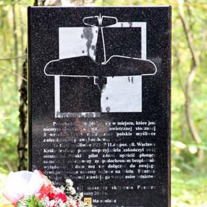 Odsłonięcie pomnika w Kłaju