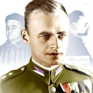 Pułkownik Witold Pilecki.