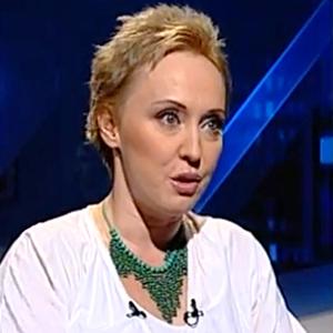 """Katarzyna Bratkowska w programie \""""Tak czy Nie\"""" (Polsat News). Fot. YouTube"""