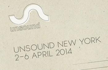 Unsound Festival New York - alternative music festival in Manhattan and Brooklyn