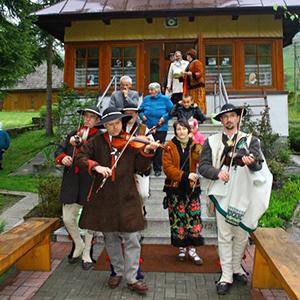 Spotkanie na Szlaku Twórców Ludowych Łuku Polskich Karpat