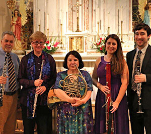 Quintet of the Americas at St. Josaphat's Church, NY