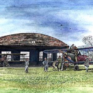 W Krakowie hangar lotniczy z 1916 roku wraca do służby