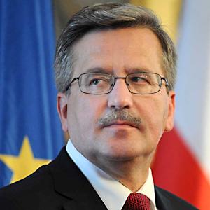 Bronisław Komorowski pogratulował Ukrainie, Mołdawii i Gruzji