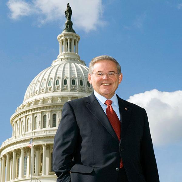 Przewodniczący Komisji Spraw Zagranicznych Senatu USA Robert Menendez. Fot. www.menendez.senate.gov