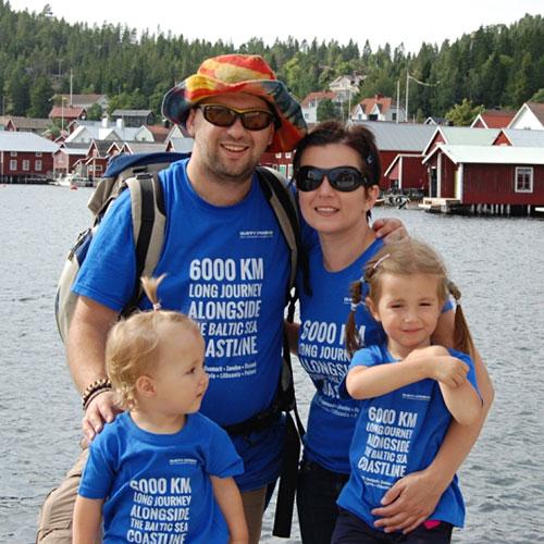 Nasza rodzina na wyspie Ulvön, Szwecja