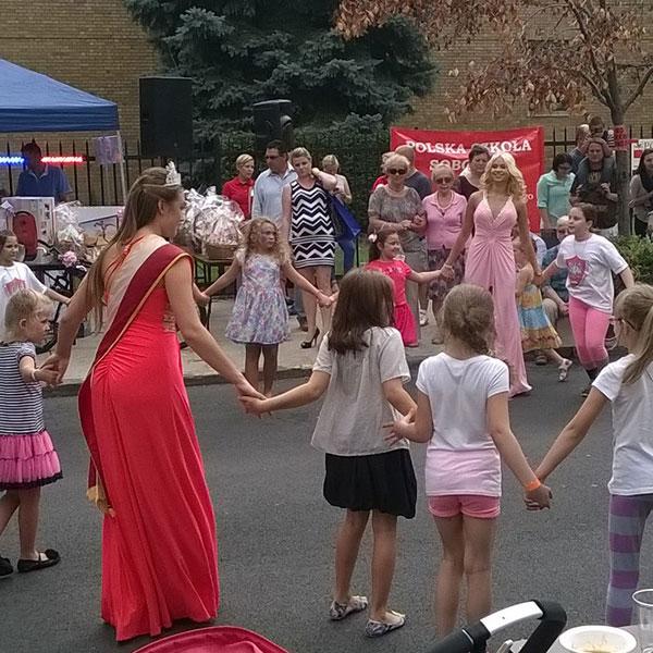 Festyn polonijnej szkoły przy parafii Św. Cyryla i Metodego na Greenpoincie