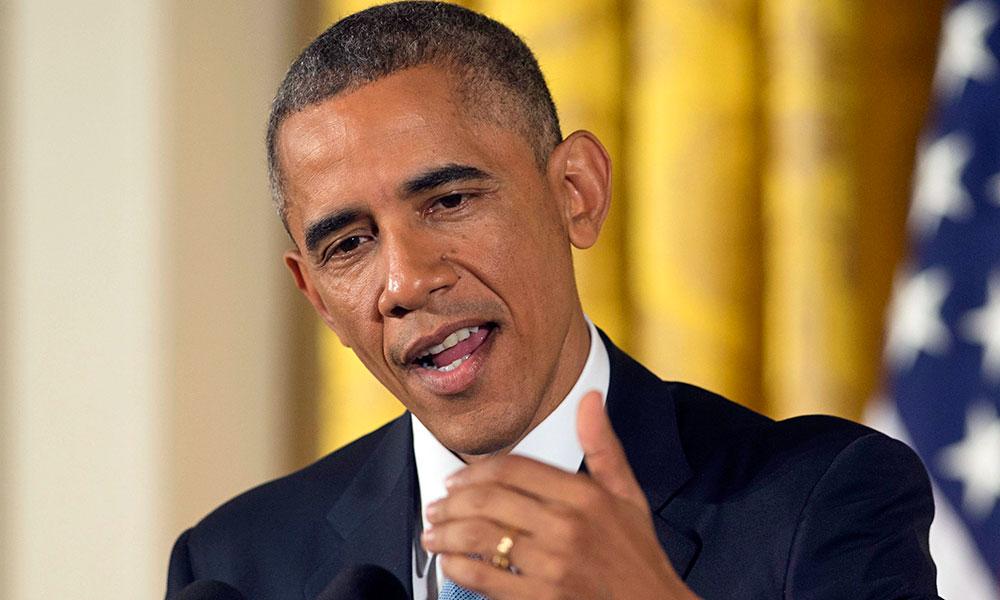 US President Barack Obama. Fot. PAP/EPA / MICHAEL REYNOLDS
