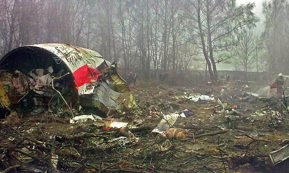 Katastrofa polskiego Tu-154 w Smoleńsku. Fot. Bartosz Staszewski, CC-BY-SA-2.5, via Wikimedia Commons