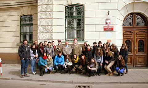 Miłośnicy historii Polski z Hiszpanii w Krakowie