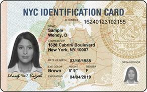Karta identyfikacyjna IDNYC