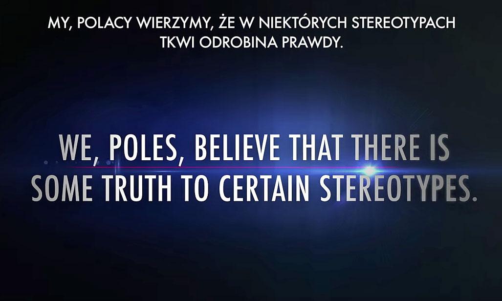 Czy wierzysz w stereotypy? Film o nas, o Polakach