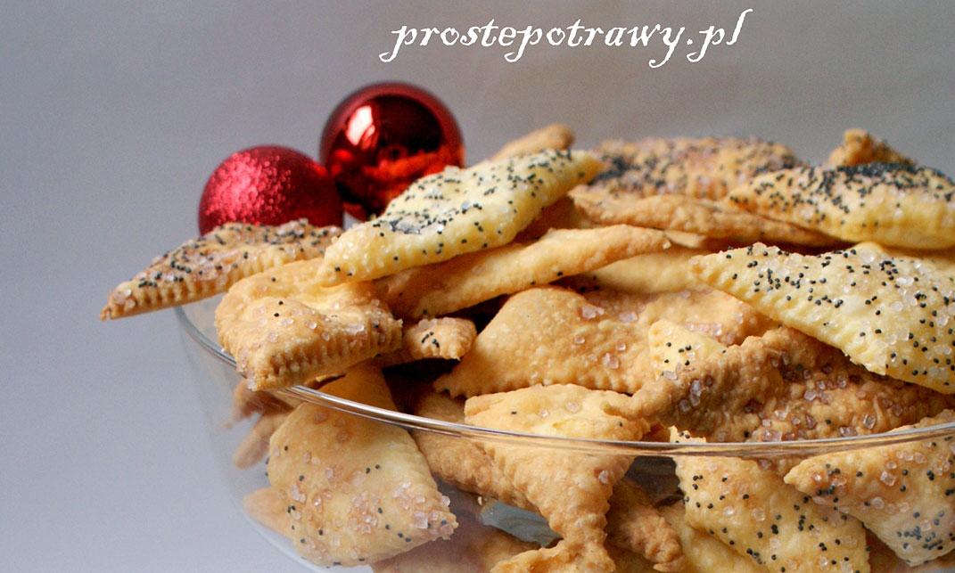 Kruche ciasteczka na Boże Narodzenie i Nowy Rok - przepis