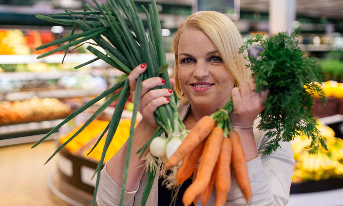 """Wiem, co jem i wiem, co kupuję"". Fot. TVN / Piotr Mizerski"