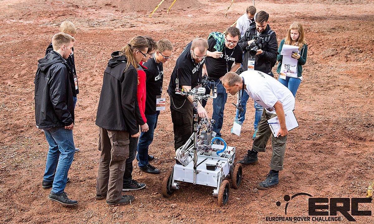 Europejskie Zawody Łazików Marsjańskich, European Rover Challenge, częścią światowej ligi robotycznej