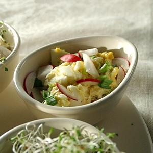 Pyszna Wielkanoc - TVN Style - przepisy Anny Starmach - najlepsza pasta jajeczna z domowym majonezem